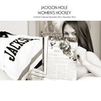 Jackson Hole WY Womens Hockey Calendars